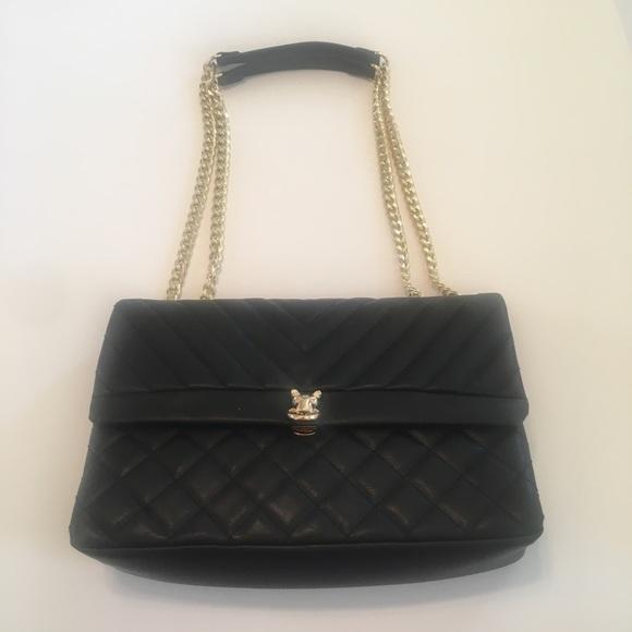 bcf0cbd6ea TOPSHOP- Panther quilted faux leather shoulder bag.  M 5ba6a0d2c89e1d604141b269